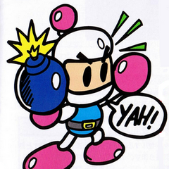 <i>Panic Bomber</i> (PC Engine) art
