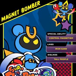 Magnet Bomber in <i>Super Bomberman R</i>