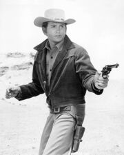 American-actor-michael-landon-as-little-joe-cartwright-in-th