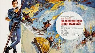 James Bond 007 - Im Geheimdienst Ihrer Majestät - Trailer Deutsch