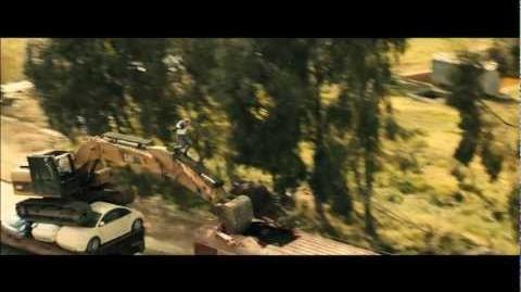 Skyfall - Bagger vs Zug
