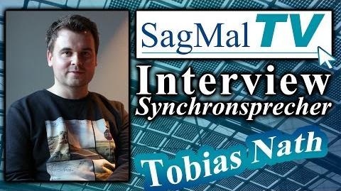 Interview- Synchronsprecher Tobias Nath