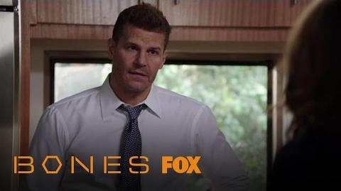 Booth Tries To Console Brennan Over Her Father's Death Season 12 Ep