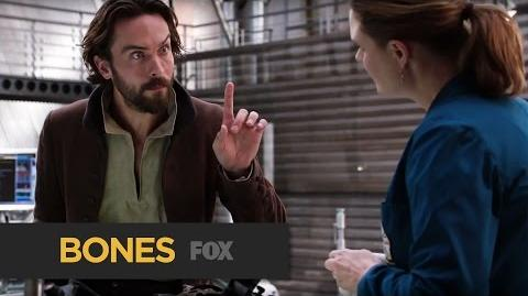 "BONES Uncomfortable from ""The Resurrection in the Remains"" FOX BROADCASTING"