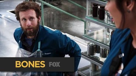 """BONES Unbearable from """"The Fight in the Fixer"""" FOX BROADCASTING"""