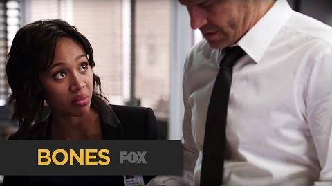 "BONES Expensive Champagne from ""The Resurrection in the Remains"" FOX BROADCASTING"