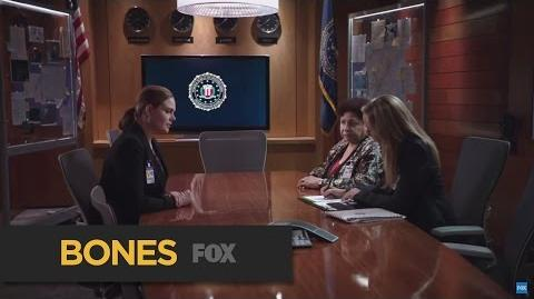 "BONES Sharp Shooter from ""The Loyalty in the Lie"" FOX BROADCASTING"