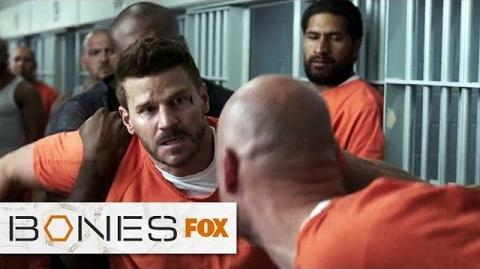 "Booth Becomes A Target from ""The Conspiracy In The Corps"" BONES FOX BROADCASTING"