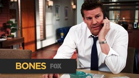 """BONES Getting In Deep from """"The Murder in the Middle East"""" FOX BROADCASTING"""