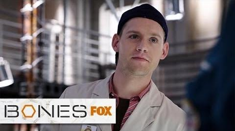 """Finn's Financial Freedom from """"The Turn In The Urn"""" BONES FOX BROADCASTING"""