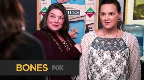 "Daisy's Domineering Doula from ""The Puzzler In The Pit"" BONES FOX BROADCASTING"