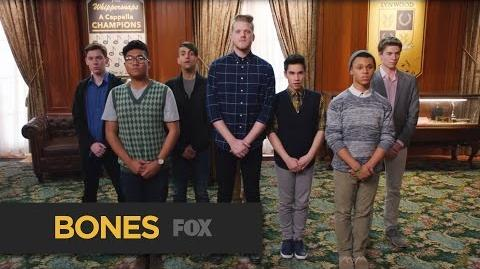 "BONES Pentatonix Performs Sia's ""Chandelier"" & Patsy Cline's ""Walkin' After Midnight"""