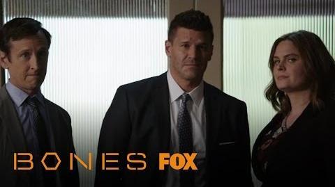 Brennan And Booth Break The Bad News To Barbara Baker Season 12 Ep