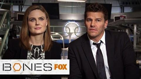 The Cast Dishes On The Shocking Season Premiere! BONES FOX BROADCASTING