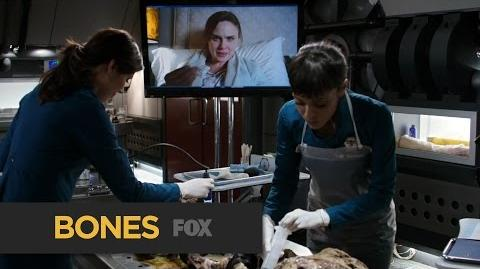 "BONES Very Mysterious from ""The Secret in the Service"" FOX BROADCASTING"