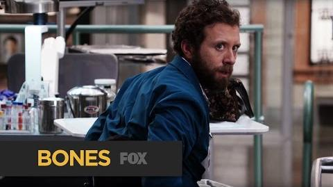 """BONES Creepy from """"The Monster in the Closet"""" FOX BROADCASTING"""