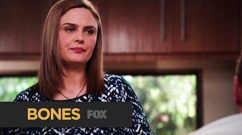 """BONES Reluctance from """"The Teacher in the Books"""" FOX BROADCASTING"""