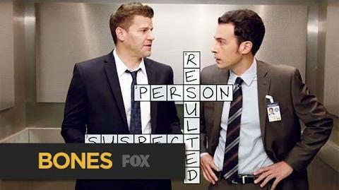 A Crossword Murder Mystery BONES FOX BROADCASTING