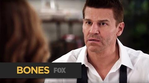 "BONES First Day Back from ""The Donor in the Drink"" FOX BROADCASTING"