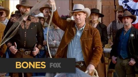 BONES Undercover Cowboy Teaser Preview FOX BROADCASTING