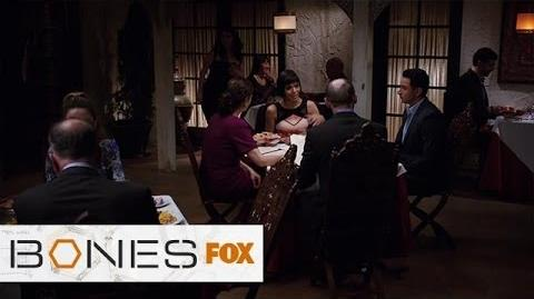 "Cam Meets Arastoo's Parents from ""The Cold In The Case"" BONES FOX BROADCASTING"