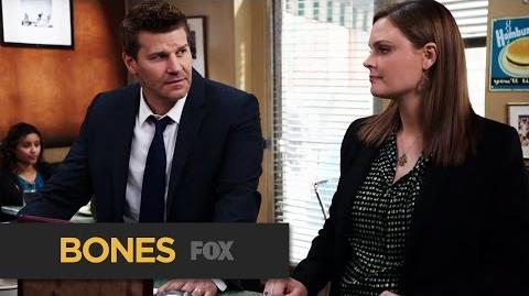 "BONES The Wrong Thing To Say from ""The Woman in the Whirlpool"" FOX BROADCASTING"