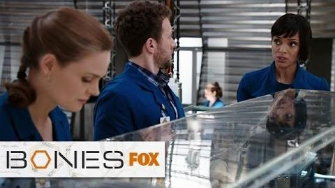 """Wendell Rocks The Naked Noggin from """"The High In The Low"""" BONES FOX BROADCASTING"""