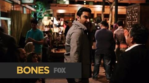"""BONES Abduction from """"The Murder in the Middle East"""" FOX BROADCASTING"""