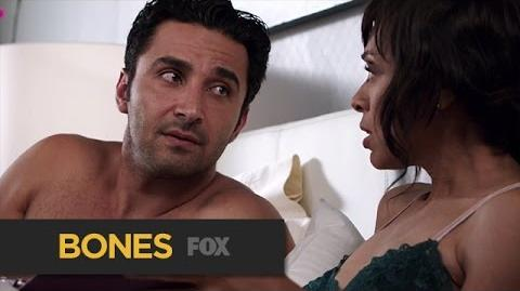 "Cam and Arastoo Talk Marriage from ""The Love Lost In a Foreign Land"" BONES FOX BROADCASTING"
