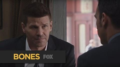 """BONES Helpful from """"The Cowboy in the Contest"""" FOX BROADCASTING"""