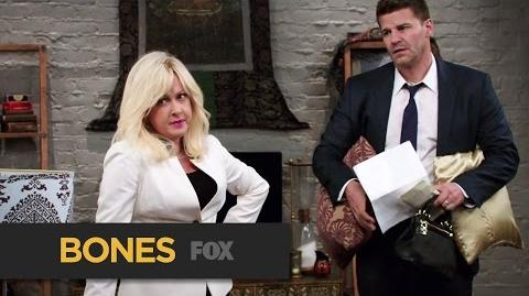 "BONES Psychic On The Scene from ""The Psychic in the Soup"" FOX BROADCASTING"