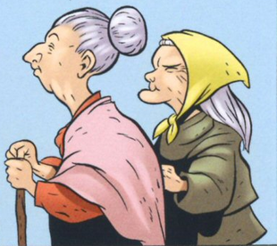 Marylou and Helen