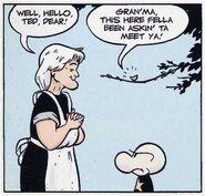 Gran'ma Ben meets Ted