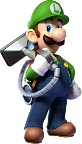 File:Luigi with the Poltergust 5000 2.png