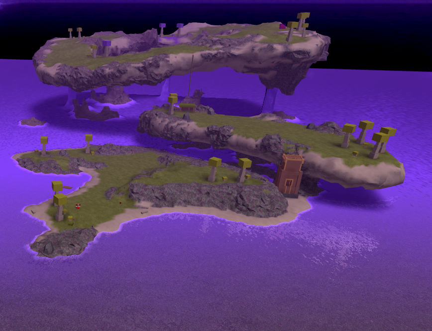 Floating Islands Void Dimension Booga Booga Roblox - hacks for roblox booga booga fly
