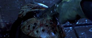 Freddy stabbing jason