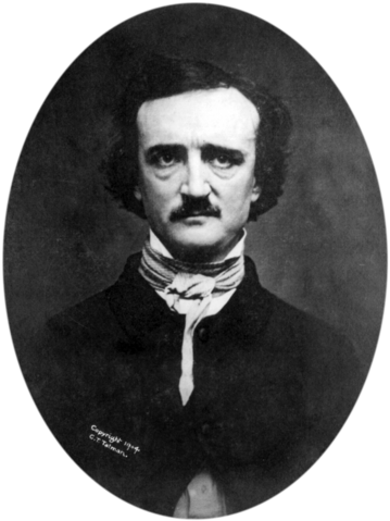 File:Edgar Allan Poe 2 retouched and transparent bg.png