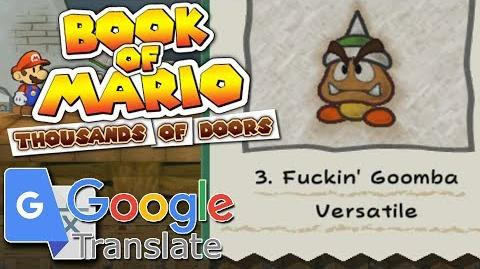 Book of Mario Thousands of Doors Google Translated TTYD ~ Chapter 1