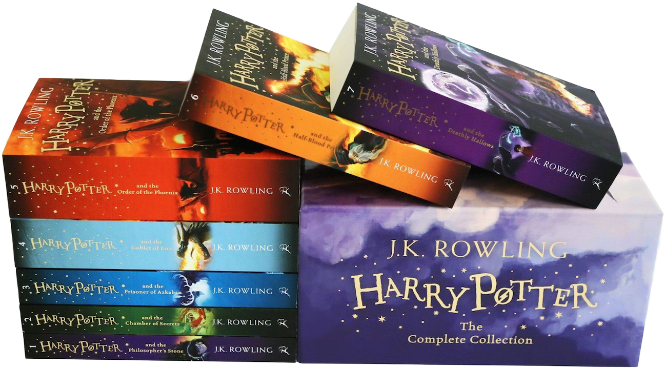 Harry Potter Book Wiki : Image harry potter uk paperback box set book