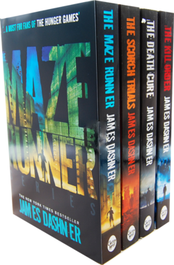 The Maze Runner UK paperback box set