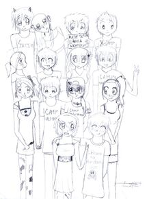 Percy jackson and friends by emm kk-d3a41ma