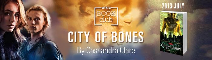 Book Club banner - City of Bones