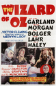 The Wizard of Oz 1939 film poster