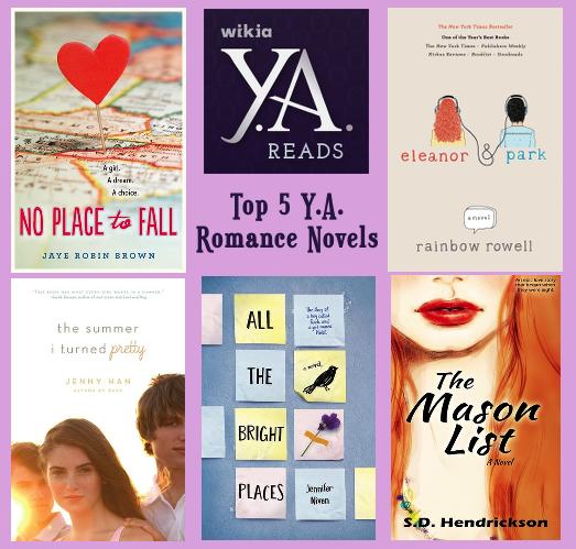 User blog:Asnow89/Top 5 Y A  Romance Novels | Book Club Wiki