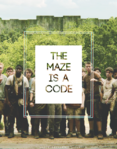 The maze is a code