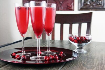 Cranberrychampagnecocktail