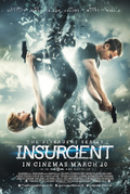 The Divergent Series - Insurgent 2015 film poster