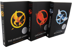 The Hunger Games trilogy UK Scholastic paperback edition