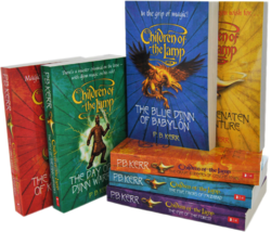 Children of the Lamp paperback editions