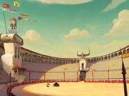 Bullfighting Arena